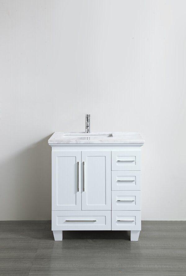 Kempst 31 Single Bathroom Vanity Set In 2020 White Vanity