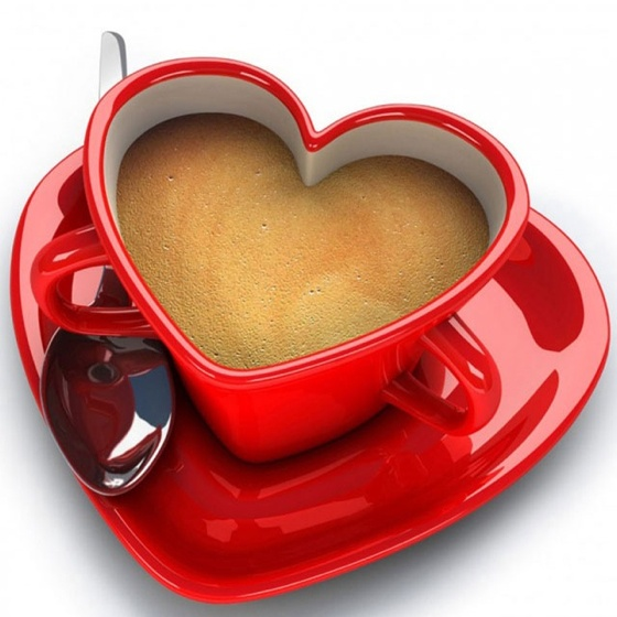 coffee created with love