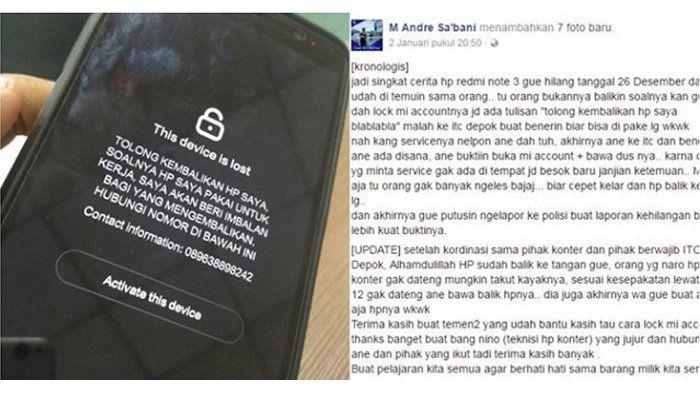 Pasang Sebuah Pesan, Smartphone Xiaomi Orang Ini Berhasil Kembali! Begini Caranya