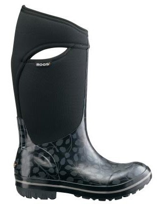 Womens Bogs Plimsoll Tall Leaf Insulated Waterproof Rain Boots