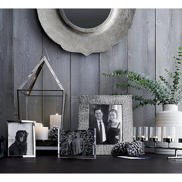 "Silver Bark 8""x10"" Picture Frame 