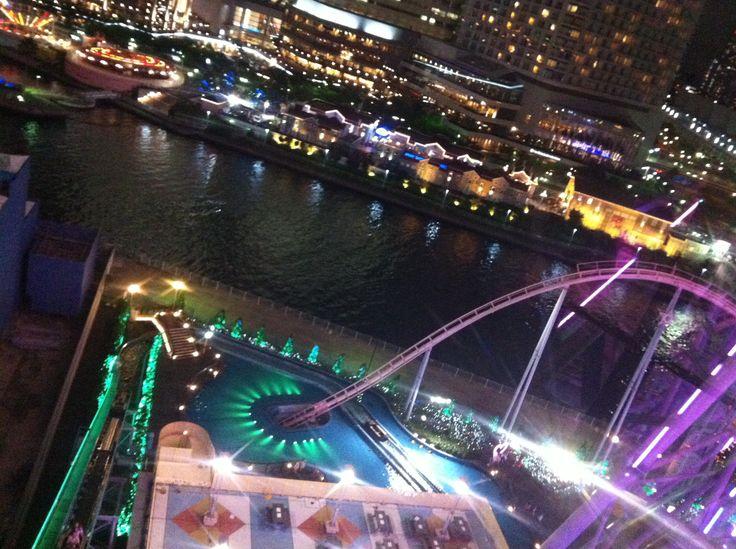 Diver coaster, Cosmo World Yokohama.