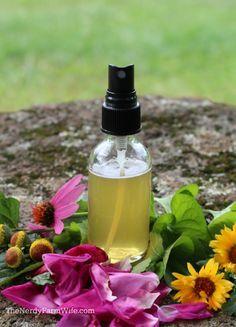 Herbal Honey Throat Spray Recipe