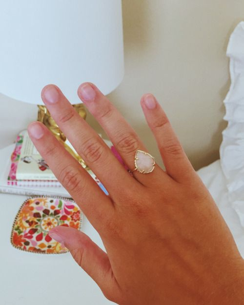 "sweetmadelineblog: "" new Kendra Scott ring """