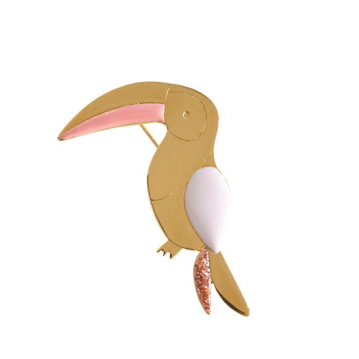 Broche Toucan