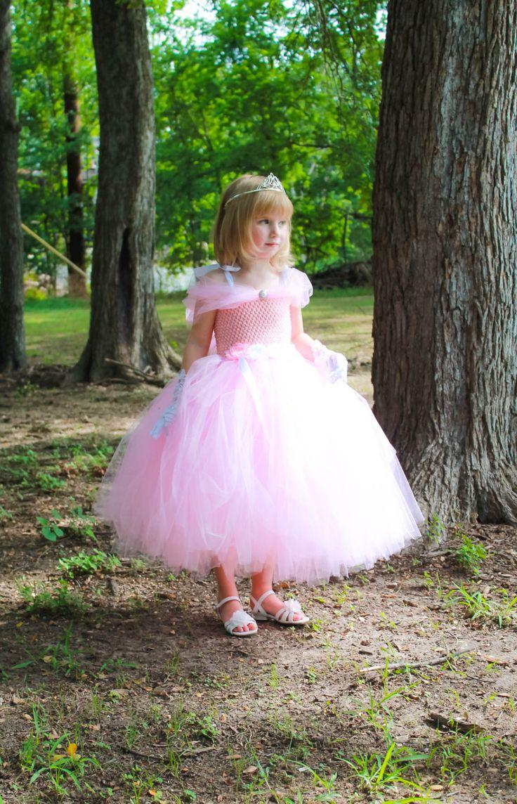 Pink Princess Tutu Dress. Birthday Princess by AbbyJadeCreations