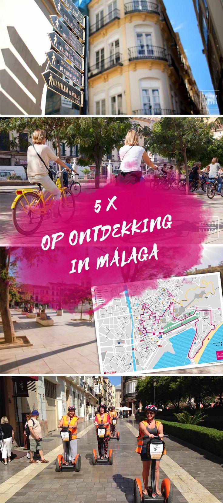 Beleef Malaga op je eigen manier. 5 leuke ideeën om meer te zien van deze mooie stad. Maak een rondleiding met een Nederlandstalige gids of ontdek Málaga in je eigen tempo. Onze stadsplattegrond is dan ideaal.