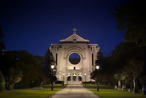 St. Boniface Basilica, Winnipeg, MB