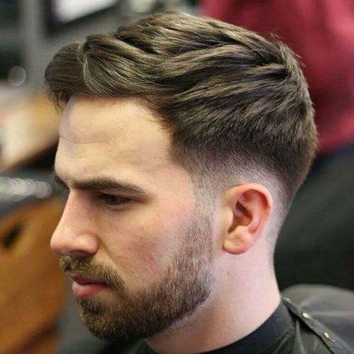 Low Fade with Thick Textured Hair