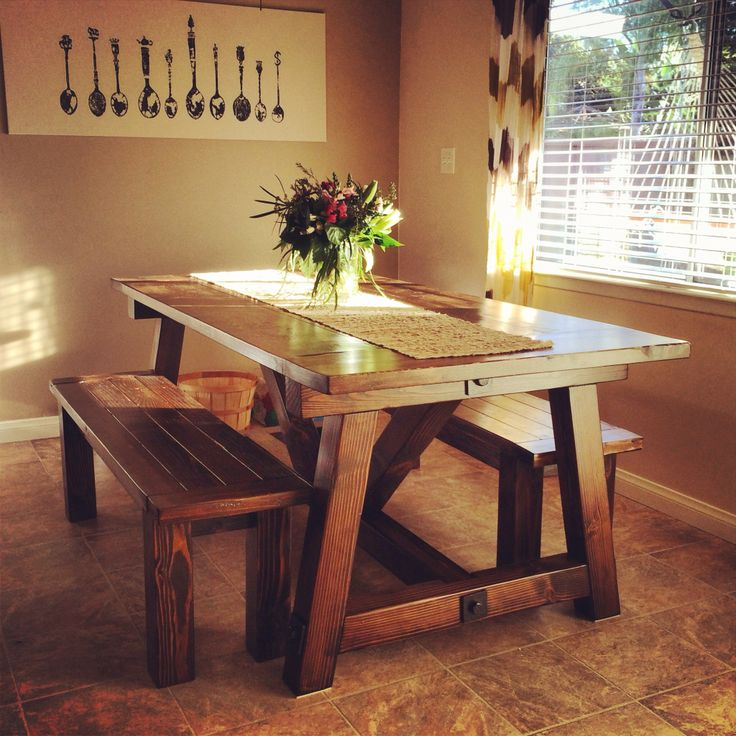 19 best refinishing table images on pinterest dining for 4x4 dining table