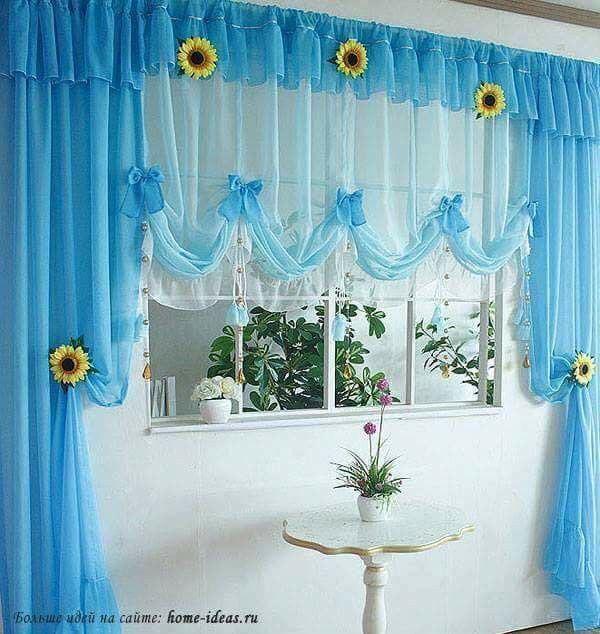 Kitchen Curtains Windows Window Decorating Ideas Decor Curtain Treatments Coverings House