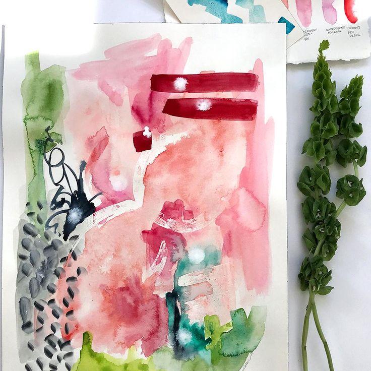 Rose' Motion Original Art