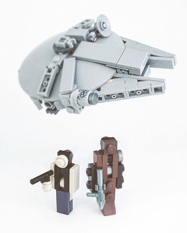 the 25 best lego millennium falcon ideas on pinterest. Black Bedroom Furniture Sets. Home Design Ideas
