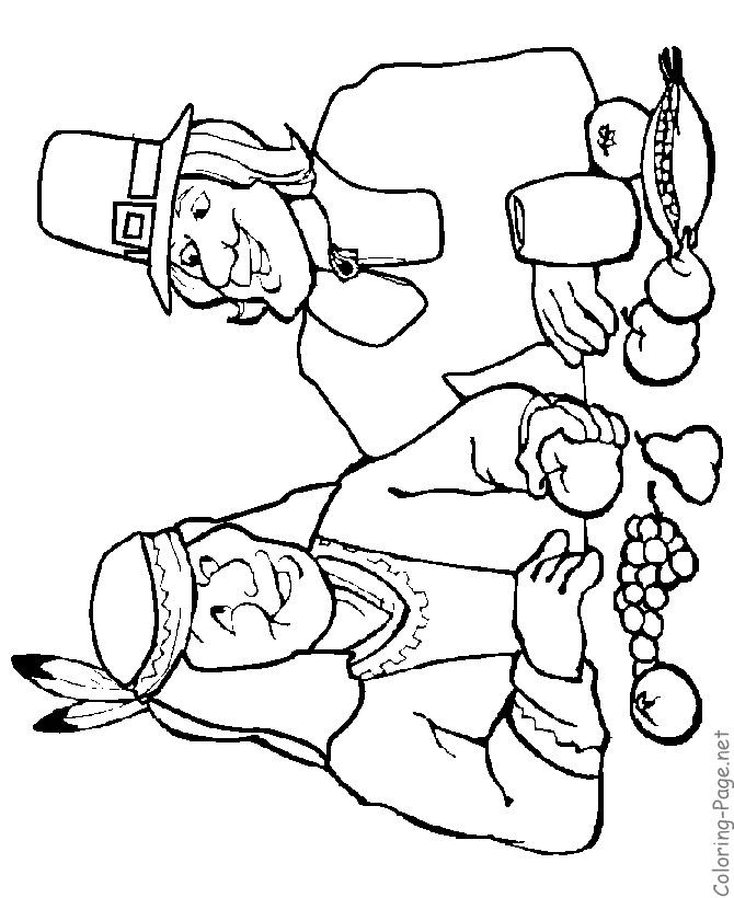 Free Printable Thanksgiving Native American Coloring Pages For Kids Pumpkins Pilgrims And More Sheets