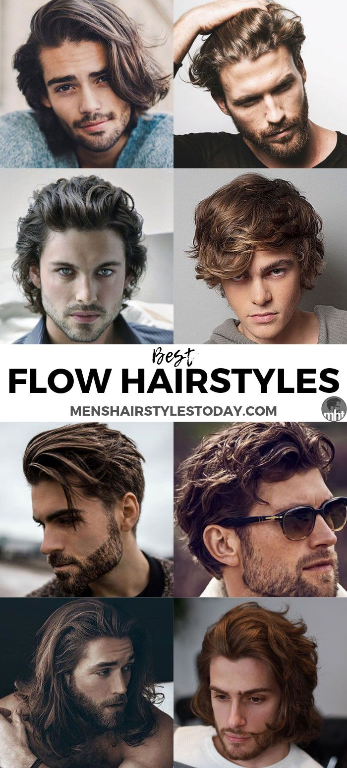 10 Best Flow Hairstyles For Men (10 Guide)  Long hair styles