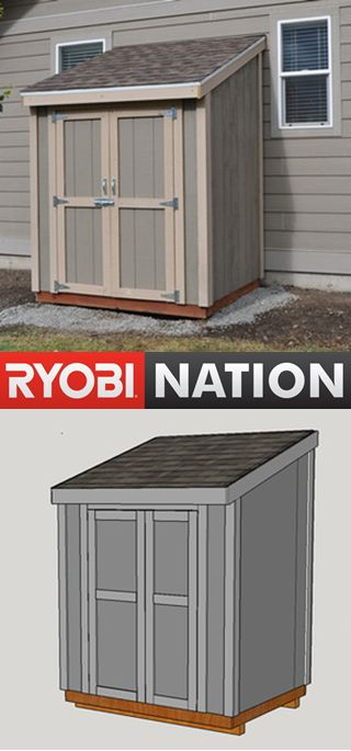 Too much stuff from Summer? Build a Shed! DIY Pete will walk you through step by step instructions.