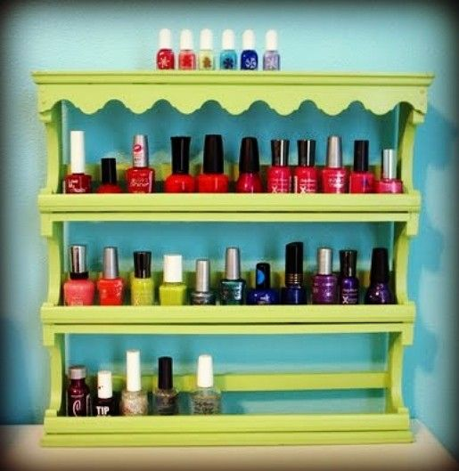 8 DIY Nail Polish Organizers For Your Growing Collection