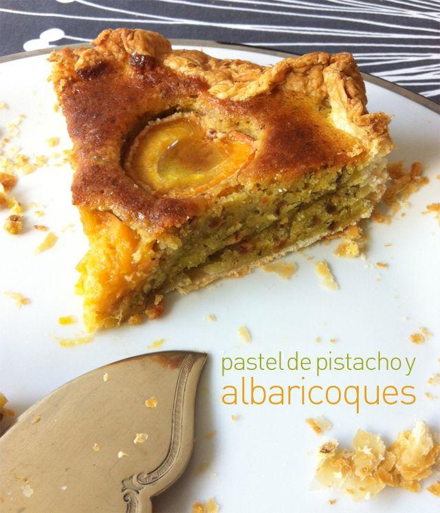 Biscayenne: Pastel de pistacho y albaricoques, vacaciones Santillana