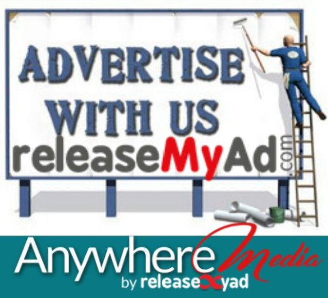 Advertise with releaseMyAd as 'ANYWHERE MEDIA' to make your space as anywhere ad spaces.