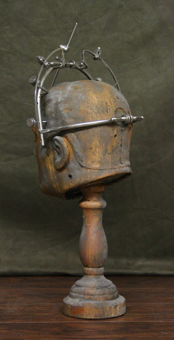 Antique Brain Surgery Surgical Medical Skull Clamp Set of 2 Lobotomy | eBay