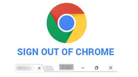 Sign out of google chrome. Helps prevent unauthorized users from accessing your saved data such as password, credit card information and many more.