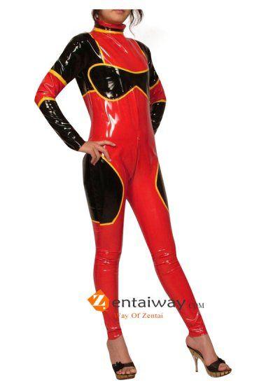 Sexy Lady PVC Catsuit