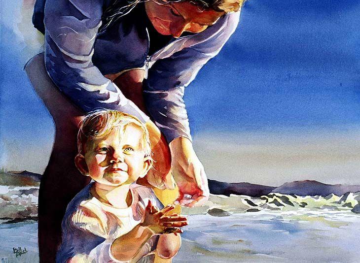 Visit Bill Abel ...R C Moore Watercolors