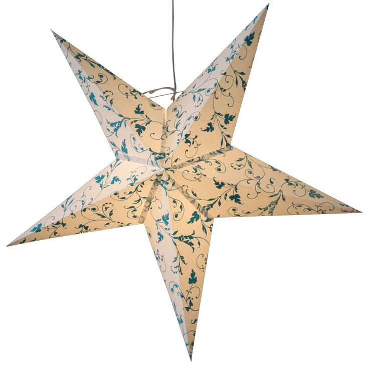 Elegance turquise star lamps online http://www.29june.com/index.php/paper-stars.html
