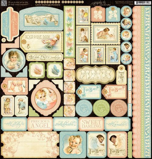 """Graphic 45's new """"Little Darlings"""" collection"""