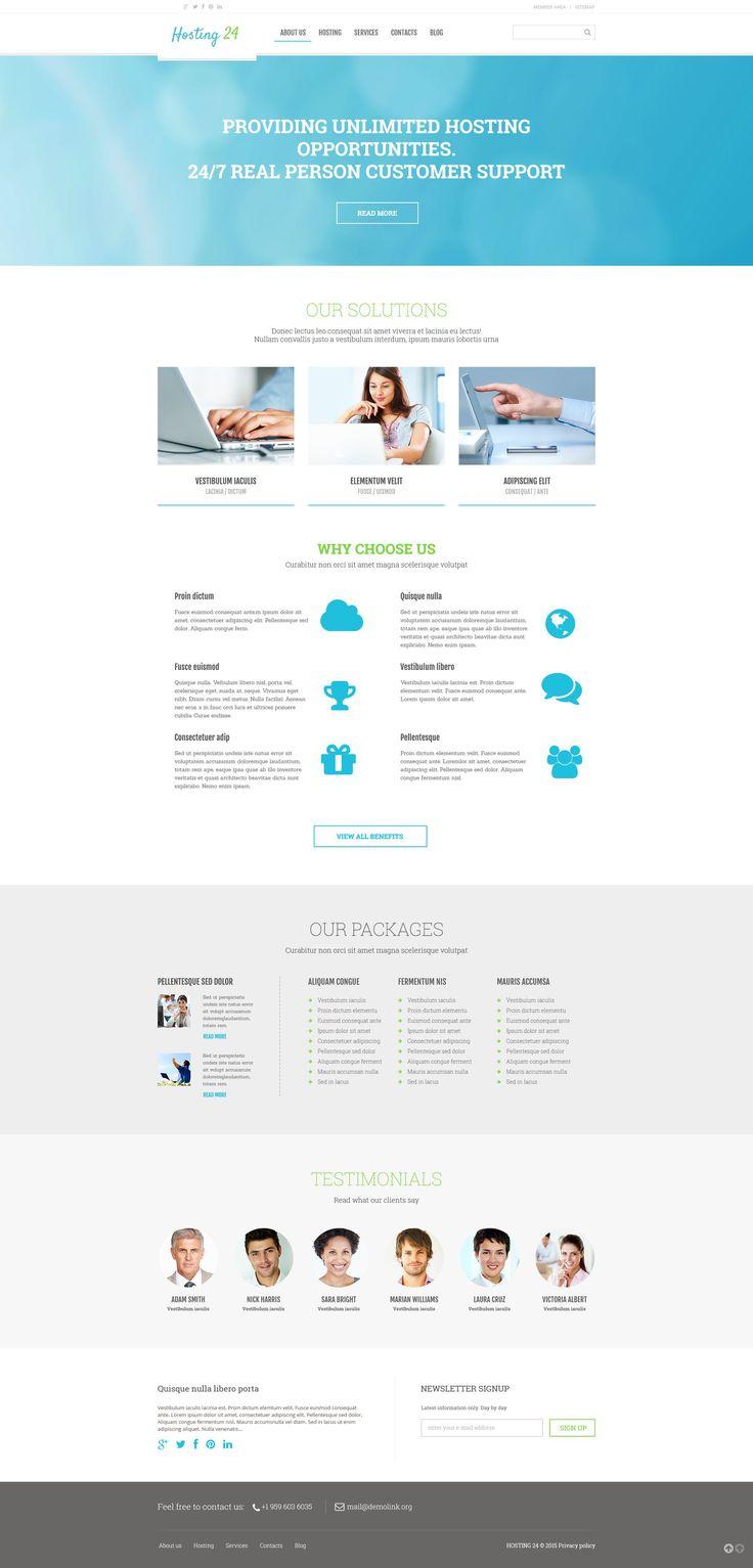 287 best wordpress themes images on pinterest website template hosting responsive wordpress theme httptemplatemonsterwordpress pronofoot35fo Gallery