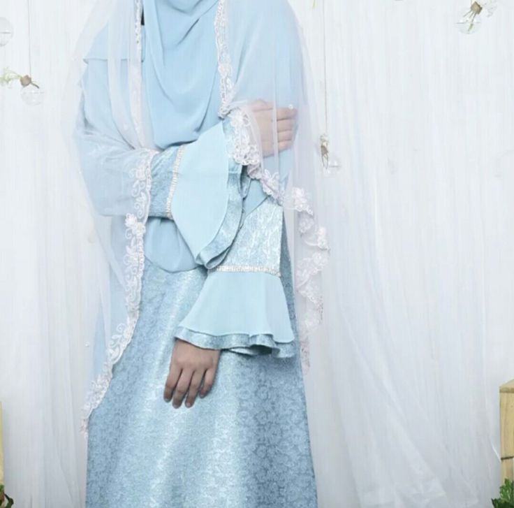 The modest bride,collection @muslimahclothing