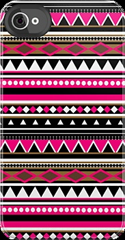 Pink Aztec Pattern iPhone case! I have an itouch, wonder if they make one for that!?!?! :D lol