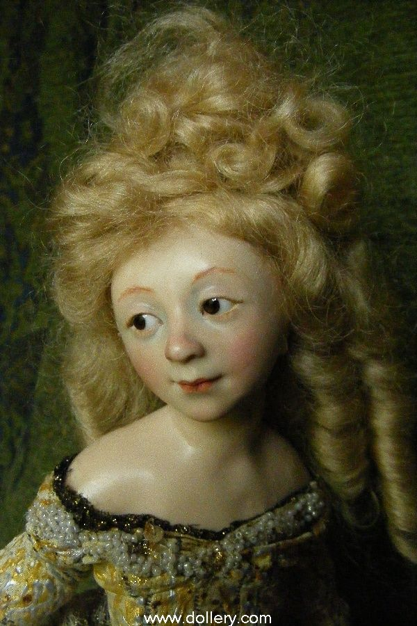 Anna Abigail Brahms Collectible Dolls
