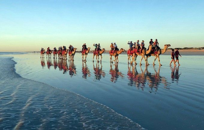 Cable Beach in Western Australia