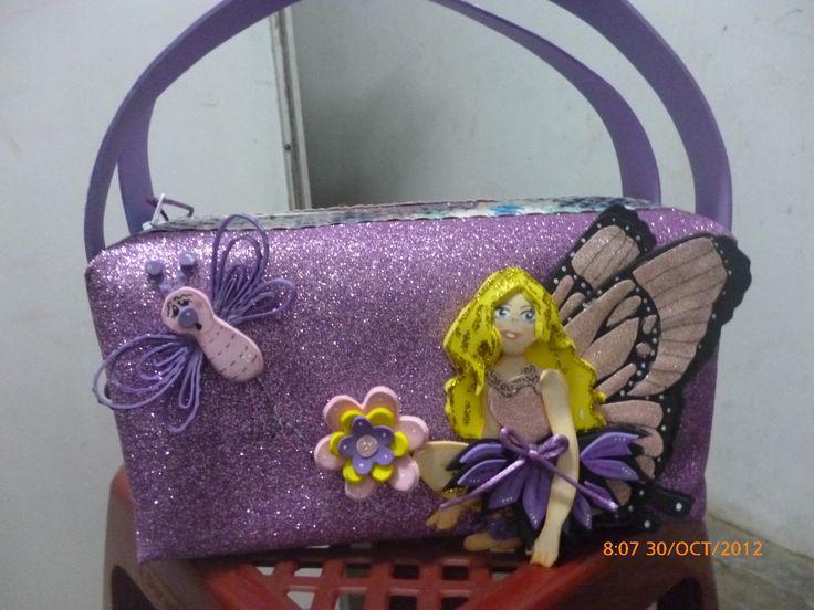 carterita mariposa barbie