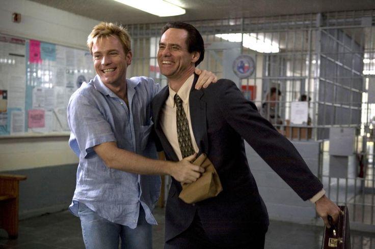 I LOVE YOU PHILLIP MORRIS, from left: Ewan McGregor, Jim Carrey, 2009 | Essential Film Stars, Ewan McGregor http://gay-themed-films.com/film-stars-ewan-mcgregor/