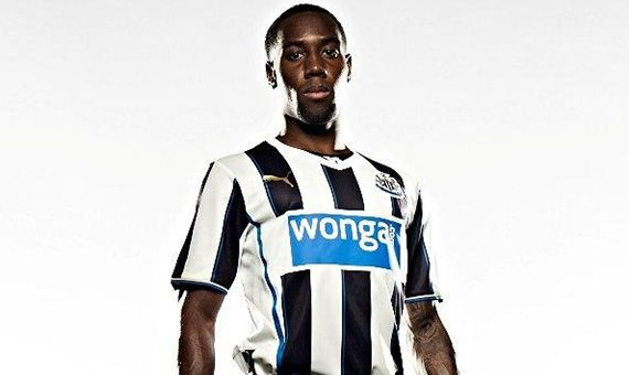 Check out Newcastle United's newly unveiled home kit for the 2013-14 Premier League season.