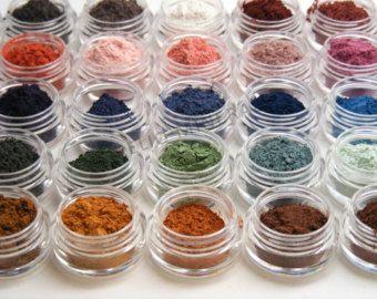 Mineral Eyeshadow Mineral Makeup Samples - 10 Eyeshadow Samples