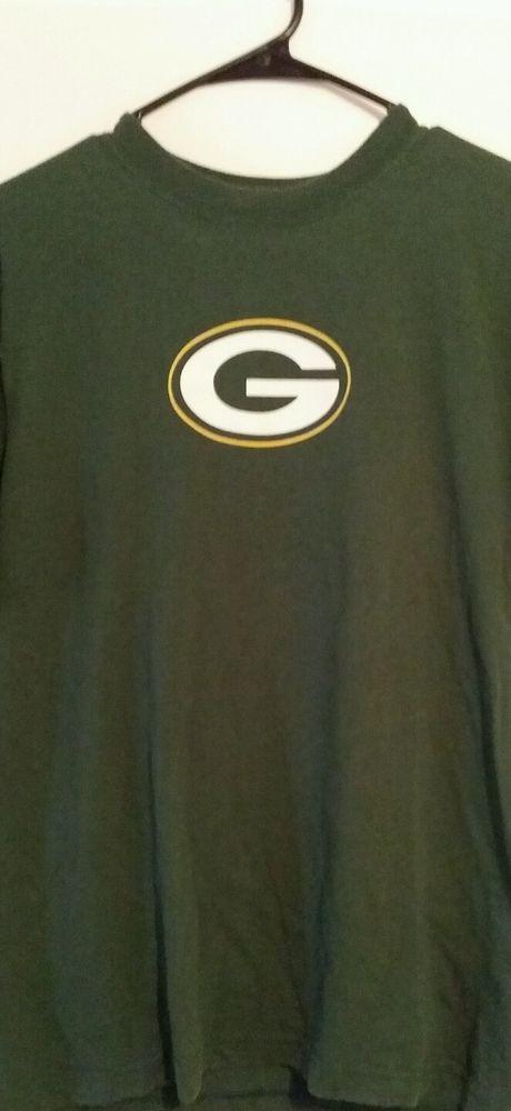 Green Bay Packer s#52 Clay Matthews Medium T-shirt by Reebok #Reebok