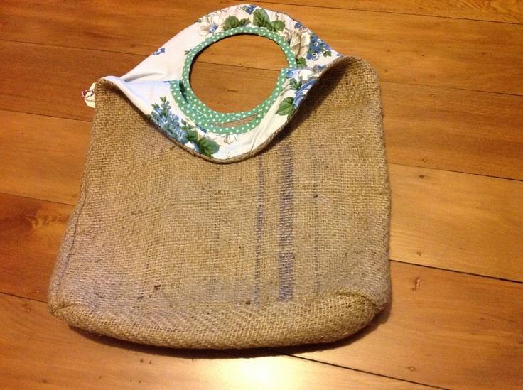 Gerty Brown reversible bag - floral