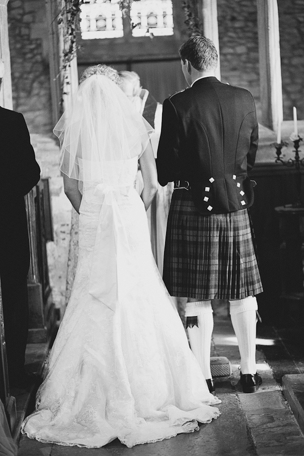 I think a Scottish wedding with the groom in a kilt is so romantic!