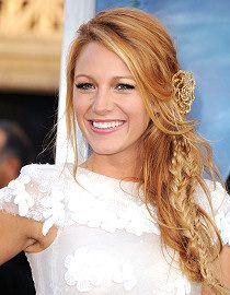 Blake Lively. Always love her hair.
