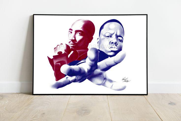 biggie smalls art etsy