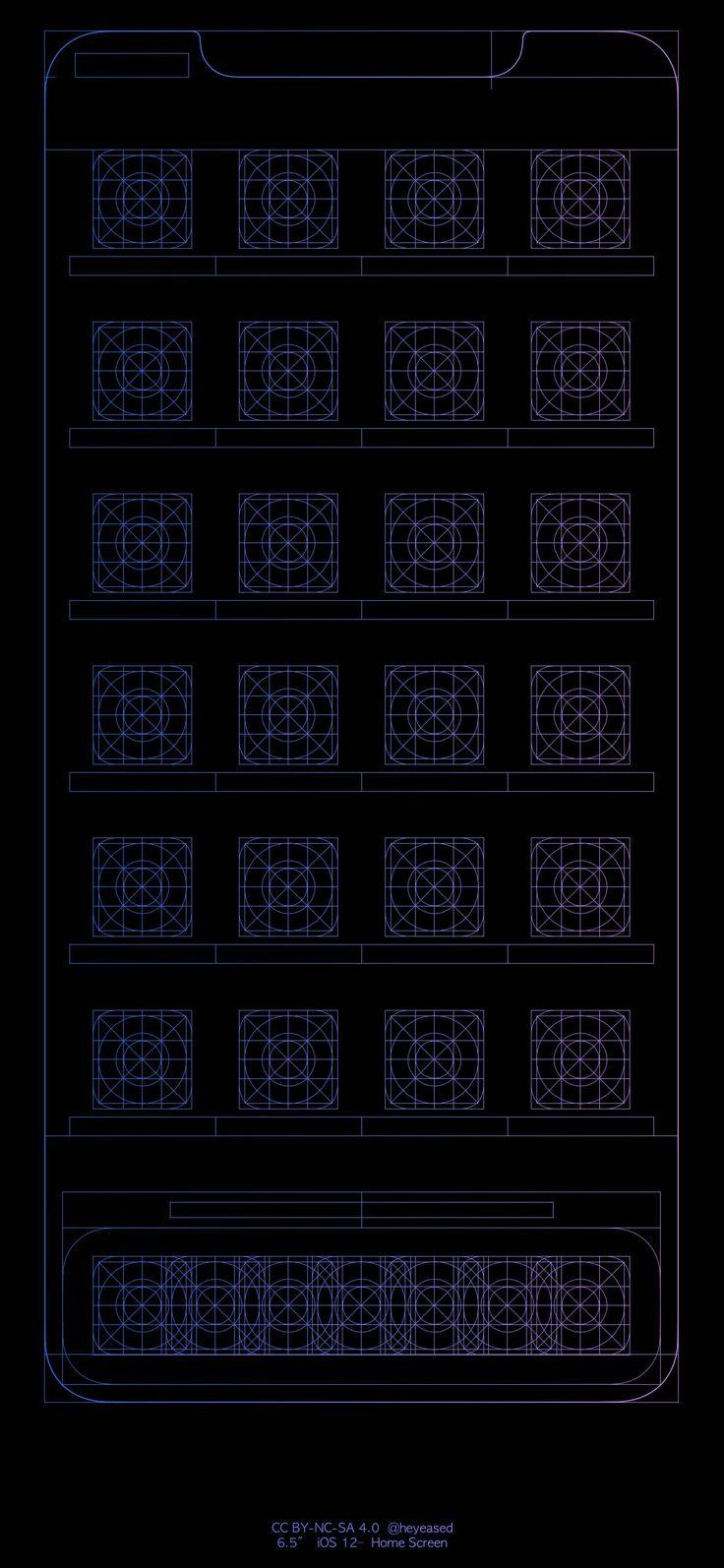 Blueprint for XS Max via heyeased в 2020 г Обои для