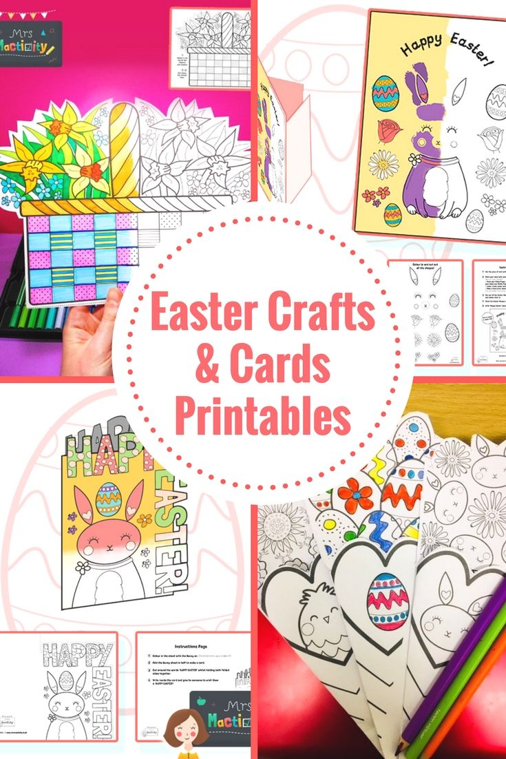 Easter card templates, Easter crafts, Easter craft inspiration, Easter craft ideas, Easter card inspiration, Easter card ideas, Easter crafts with kids.