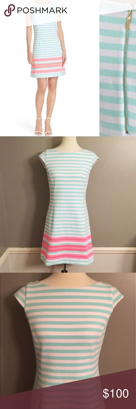 """Lilly Pulitzer Lana Dress 👗 size small EUC 🎀 Bust 36"""" 🎀 Waist 30"""" 🎀 Length 33""""                                                                          Sold out online!! All 5-star reviews on Lilly Pulitzer website!! Lilly Pulitzer Dresses"""