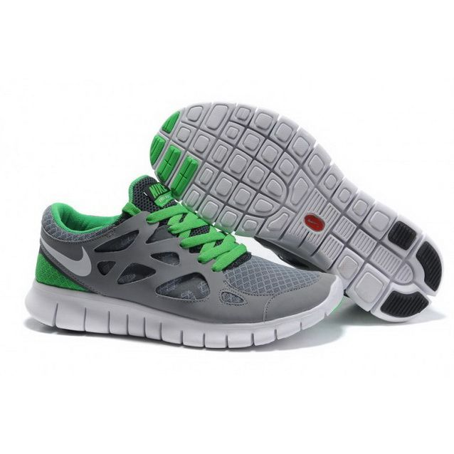 Nike Free Powerlines Ii Women'S Green Orange Mens Shoes Rummage Sale