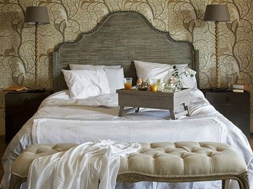 modern country decor modern country bedroom decorating ideas 500x373 modern country bedroom