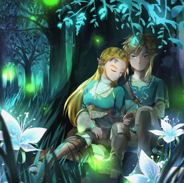 Zelda X Link Relationship Legend Of Zelda Legend Of