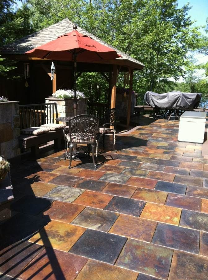 83 best brick and pavestone images on pinterest backyard for Alternative to decking